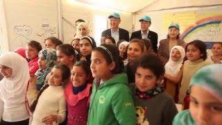 Download Inside a Refugee Camp in Jordan Video