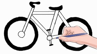 Download How to Draw a Bicycle Easy Step by Step Video