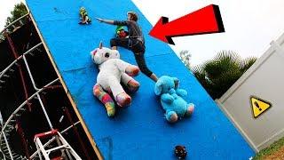 Download DONT Fall off the Random Object Climbing Wall!! (WILL IT CLIMB?!) Video