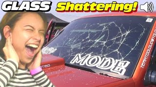 Download SHATTERING Windshields w/ LOUD Subwoofer BASS | INSANE Car Audio Sound System SUBS Breaking Glass Video