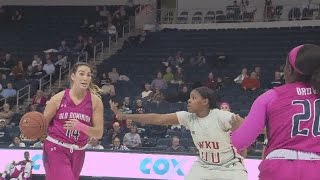Download ODU Lady Monarchs lose to Western Kentucky 85-74 in OT Video