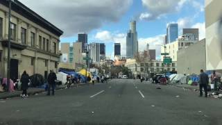 Download shocking place in Downtown Los Angeles Video