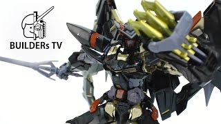 Download Use Gold Spray for the Frame - RG GUNDAM ASTRAY GOLD FRAME AMATSU MINA Speed Build Review Video