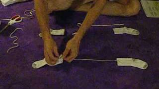 Download how to make your own stay put dog socks at home Video