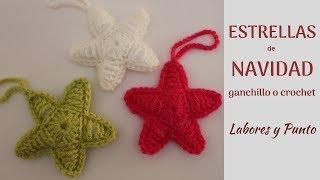 Download Como tejer una estrella de Navidad a ganchillo o crochet Video
