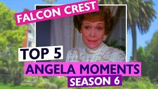 Download FALCON CREST: TOP 5 Angela Moments from Season 6 Video
