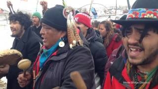 Download Final Prayer - Drums and Songs Lead Water Protectors Out of Oceti Sakowin Video
