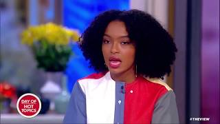 Download Yara Shahidi Speaks Out On Protests In Iran   The View Video