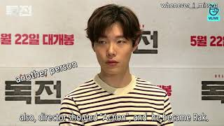 Download [Eng Sub] 조진웅 배우 독전에서의 류준열 연기코멘트 Cho Jinwung's comment about Ryu Junyeol's acting Video