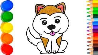 Como Dibujar Un Perrito Para Navidad Paso A Paso Dibujos Kawaii