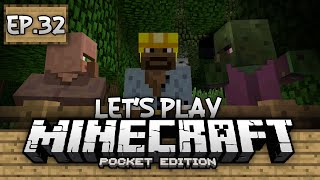 Download Survival Let's Play Ep. 32 - Curing a Villager!!! - Minecraft PE (Pocket Edition) Video