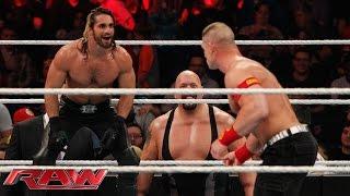 Download John Cena vs. Seth Rollins - Lumberjack Match: Raw, January 12, 2015 Video