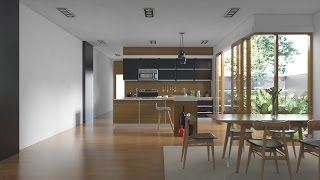Download Tutorial Vray Sketchup #1 Realistic Kitchen Set Video