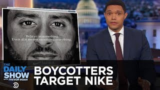 Download Boycott Season Hits Nike, The New Yorker and Ryan Gosling | The Daily Show Video