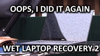Download Wet Laptop Recovery AGAIN - Dell XPS 13 Video