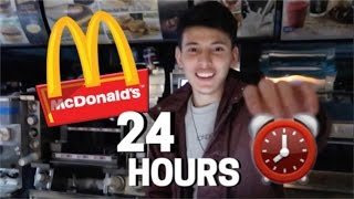 Download 24 HOUR OVERNIGHT In McDonald's Fort! Video