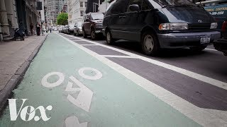 Download Why protected bike lanes are more valuable than parking spaces Video