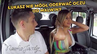 Download Łukasz nie mógł oderwać oczu od Malwiny, tak samo jak kierowca lawety! [Nauka jazdy] Video