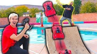 Download RC CAR POOL JUMP!! Video
