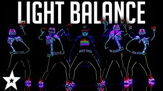 Download Light Balance FINALIST | ALL Performances | America's Got Talent 2017 Video