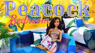 Download DIY - How to Make: Peacock Bedroom | Anna's Custom Bedroom | Painted Wallpaper Video