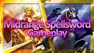Download (TES: Legends) Midrange Spellsword Laddering - Watch Commander vs. Ancient Giants Video