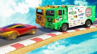 Download 2 TRUCKS vs. 1 CAR! (GTA 5 Funny Moments) Video