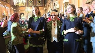 Download Pierre Cardin marks 70-year career with Paris fashion show Video