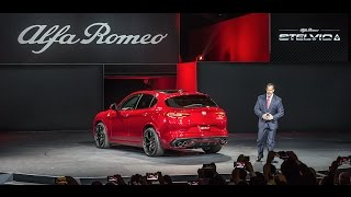 Download Alfa Romeo Stelvio Global Reveal I 2016 Los Angeles Auto Show I Alfa Romeo USA Video