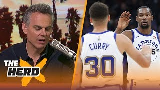 Download Colin on the Durant-Curry tandem, rumors of LeBron considering the Warriors | NBA | THE HERD Video