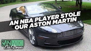 Download An NBA player stole our Aston Martin DBS Video