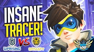 Download Overwatch - Tracer HARD Carry! Boston Uprising vs Seoul Dynasty [ProOverAnalyzed] Video