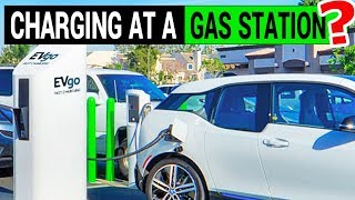 Download EV Charger at a Gas Station: EVgo + Chevron = EV LOVE! Video