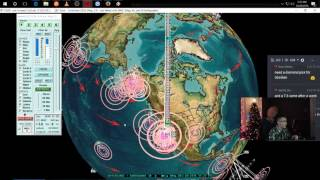 Download 12/28/2016 - Large M5.7 earthquake swarm hits volcanoes at California + Nevada border Video
