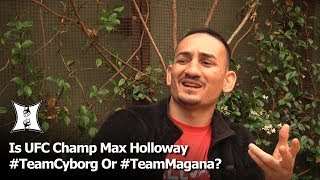 Download UFC Champ Max Holloway Thinks Magana Should Have Seen Cyborg's Punch Coming... Video
