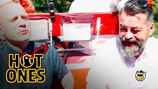 Download Chili Klaus and Sean Evans Eat the World's Hottest Pepper on the Carriage Ride From Hell | Hot Ones Video