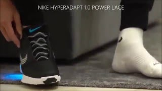 Download Cristiano Ronaldo and Nike Hyperadapt 1 0 power lace shoes Video