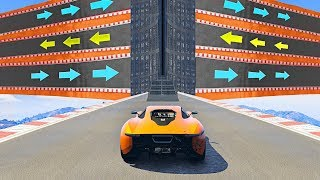 Download World's Most CONFUSING Stunt Race! - GTA 5 Funny Moments Video