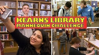 Download BEST Library Mannequin Challenge at the Kearns Library | #Mannequinchallenge Video