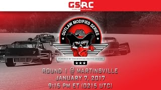 Download Bootleg Racing League's Outlaw Modified Series - 2017 S1 - Round 1 - Martinsville Video
