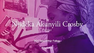 Download Painter Njideka Akunyili Crosby | 2017 MacArthur Fellow Video