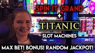 Download Titanic Slot Machine! Maxi Jackpot and BONUS WIN! Video