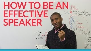 Download How to be an effective speaker: BE SPECIFIC! Video