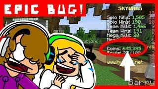 Download EPIC BUG ON HYPIXEL!!! Skywars Minecraft - (FR) Video
