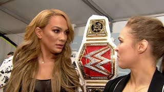 Download Ronda Rousey to challenge Raw Women's Champion Nia Jax at WWE Money in the Bank Video