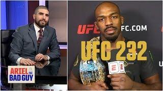 Download Jon Jones talks UFC 232 win, Daniel Cormer, spurns Chael Sonnen | Ariel & The Bad Guy Video