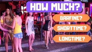 Download How Much for Girls in Thailand 2019? Barfines, Pattaya, Shorttime & Longtime! Video