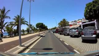 Download Driving through Puerto del Carmen, Lanzarote Video