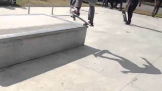 Download Micah Wu - Frontside Nose Grind 180 Out Video