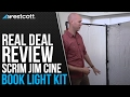 Download Real Deal Review: thec47 Scrim Jim Cine Book Light Kit Video